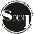 Slovensko društvo učiteljev nemškega jezika - logotip